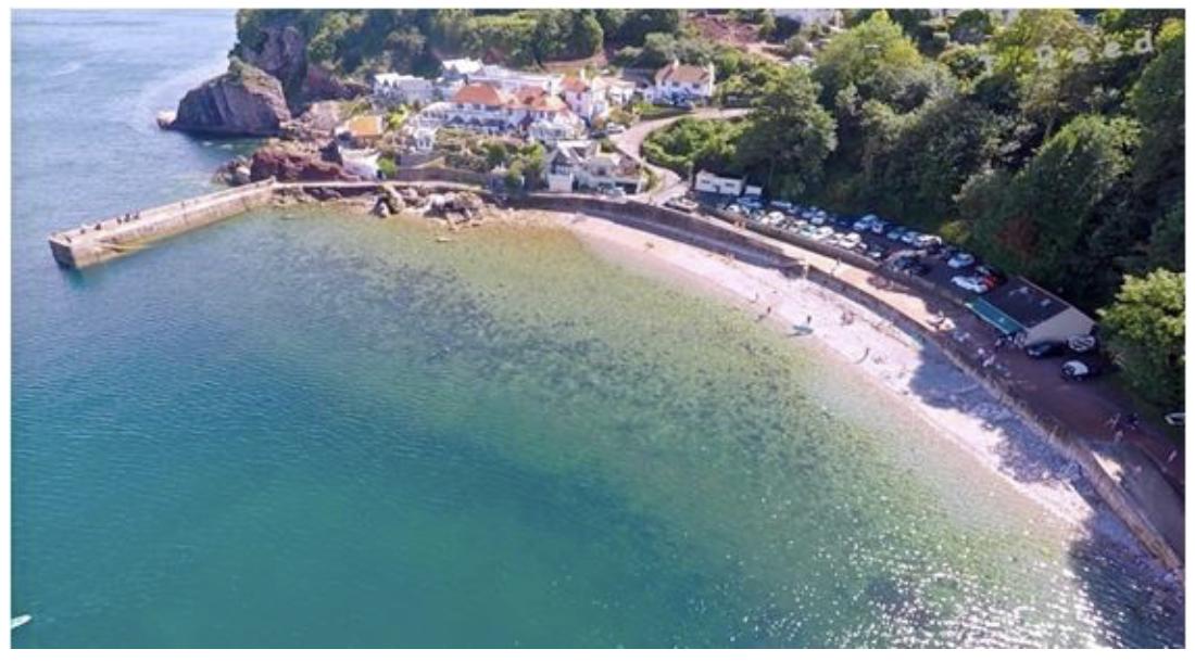 Babbacombe Beach, Devon