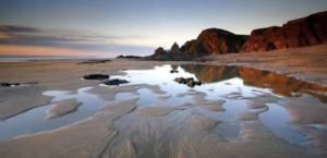 Sandymouth Beach, Cornwall